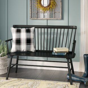 Carnany Lower Wood Bench by Laurel Foundry Modern Farmhouse