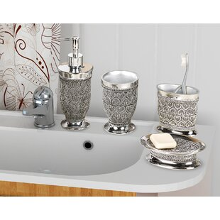 mercado 4 piece bathroom accessory set - Bathroom Sets