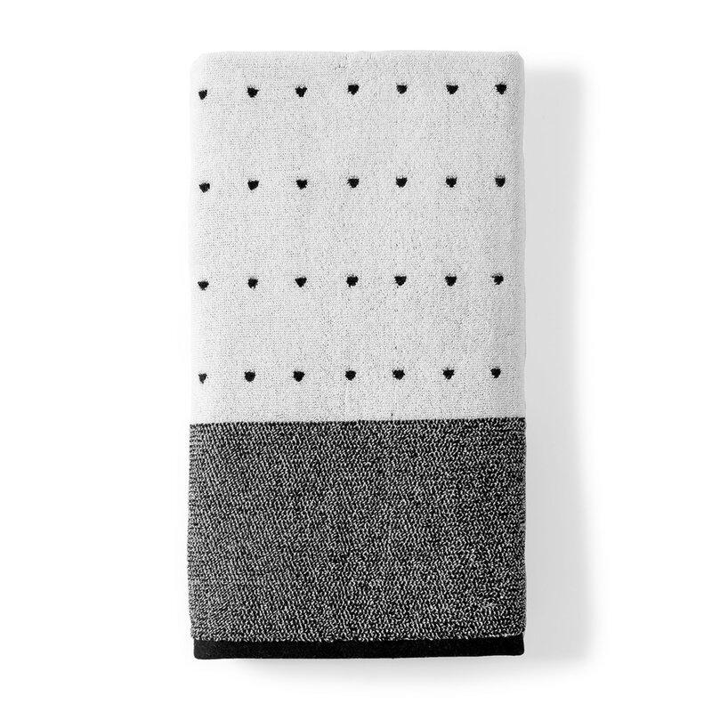 Dkny Triangle 100 Cotton Bath Towel Reviews Wayfair