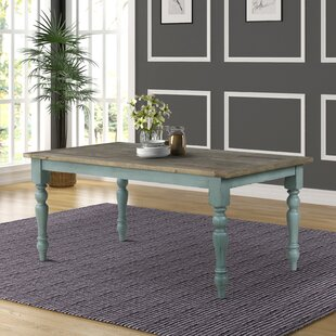 Cierra Two-Tone Dining Table Ophelia & Co.
