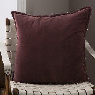 Billings Decorative 100% Cotton Throw Pillow