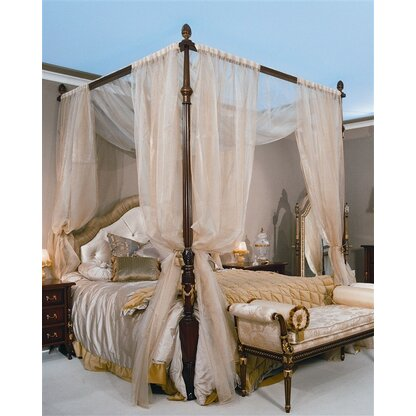 Upholstered Canopy Bed  sc 1 st  Perigold & Luxury Beds u0026 Bed Frames | Perigold