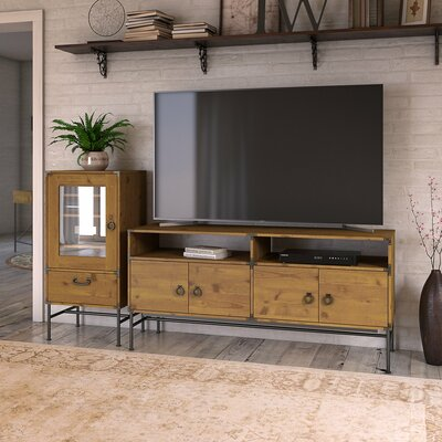 Ironworks Entertainment Center for TVs up to 65 Kathy Ireland Office by Bush