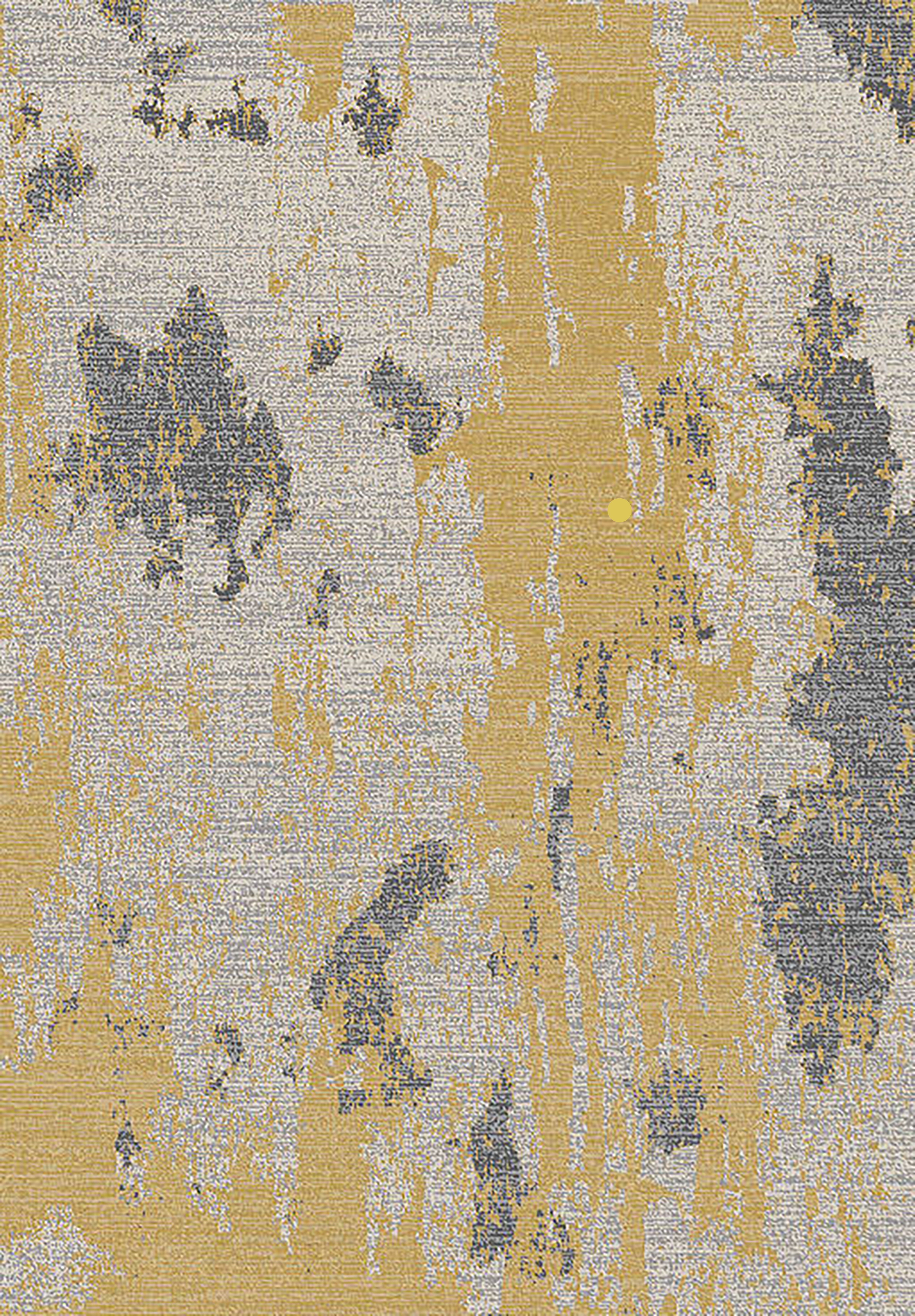 Falgout Yellow Grey Rug