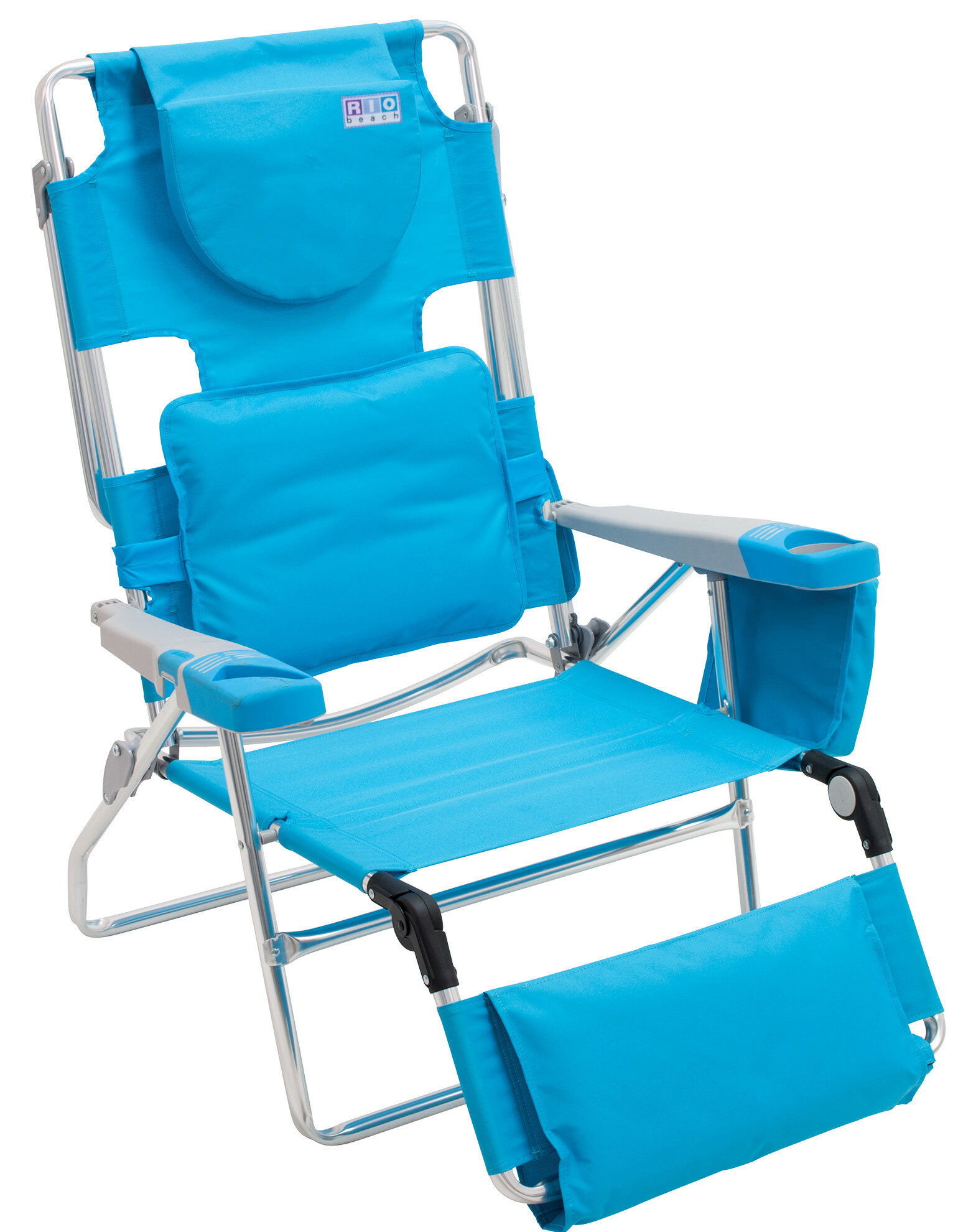 Sling Chairs Teal Wood Style Patio Outdoor Garden Premium