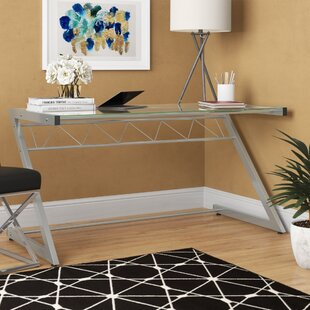 Winthrop Z-Shaped Deluxe Writing Desk by Ebern Designs Coupon