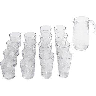 17-Piece Beverage Serving Set