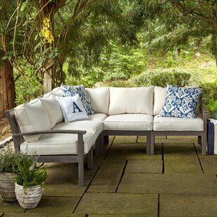 Rossi Patio Sectional With Cushions by Birch Lane™ Heritage New Design