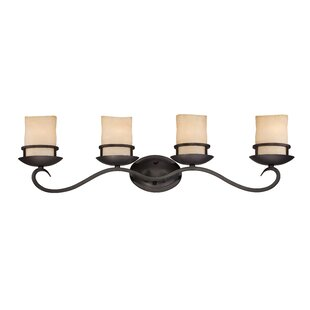 Budget Lauderhill 4-Light Vanity Light By Designers Fountain