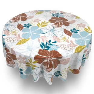 Harvin Summer Floral Tablecloth by Latitude Run Modern