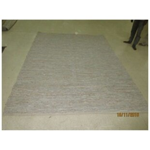 Compare prices Astaire Hand-Woven White Area Rug ByBungalow Rose