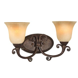 Great deal Shuttleworth 2-Light Vanity Light By Astoria Grand