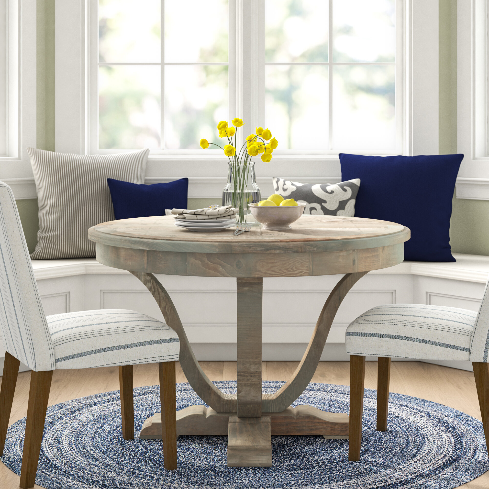 Newland Solid Wood Dining Table