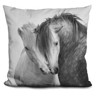 Holguin Horse Throw Pillow