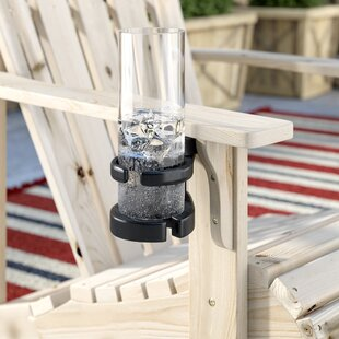 Alanna Plastic Adirondack and Wineglass Cup Holder