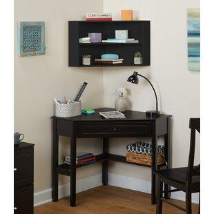 Montalto Corner Desk with Hutch