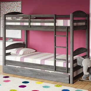 Daryl Twin over Twin Bed with Trundle by Harriet Bee