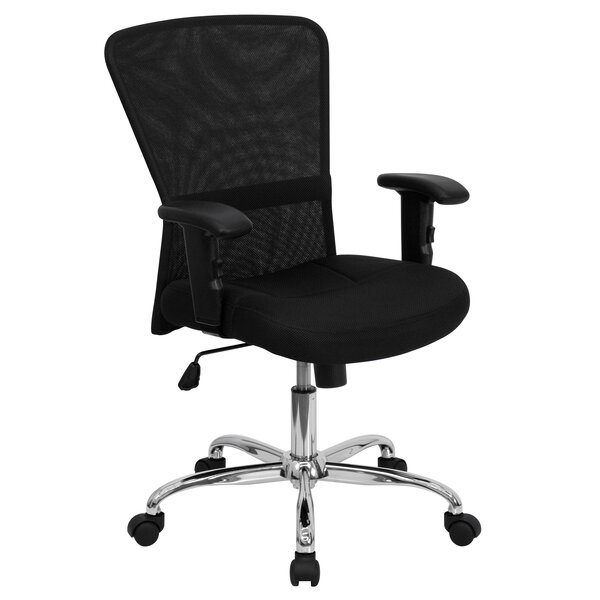 Desk Chairs Without Wheels Youu0027ll Love | Wayfair