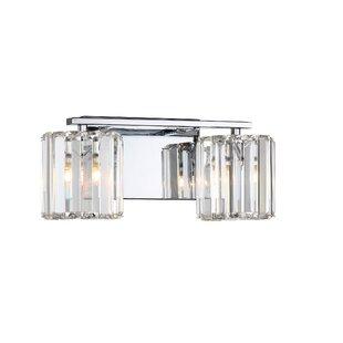 Affordable Alba 2-Light Vanity light By Willa Arlo Interiors
