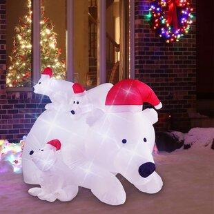 Fire Truck Inflatable Christmas Decorations  from secure.img1-fg.wfcdn.com