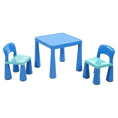 3-tlg. Kinder Tisch und Stuhl-Set Conard Roomie Kidz Beschichtung: Blau   Kinderzimmer > Kindertische   Roomie Kidz