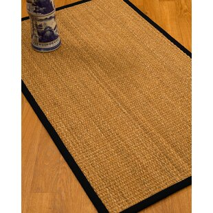 Shopping for Kimberwood Border Hand-Woven Brown/Black Area Rug By Bay Isle Home
