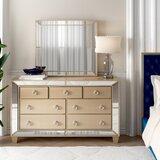 Alasdair 7 Drawer Dresser with Mirror by Willa Arlo Interiors