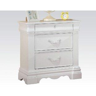 Henriques 3 Drawer Nightstand by Harriet Bee