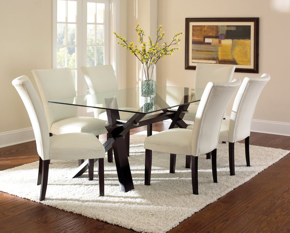 Dining Table latitude run hargrave dining table & reviews | wayfair