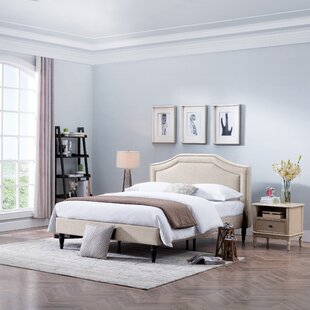 Savings Leung Fabric Queen Upholstered Panel Bed by House of Hampton Reviews (2019) & Buyer's Guide