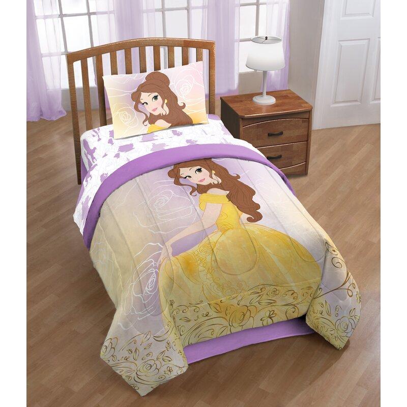 Shopkins Disney Beauty The Beast Belle En Rose Sheet Set Reviews Wayfair