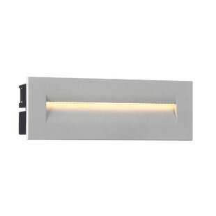 Affordable Outdoor In-Wall 1 Light LED Deck, Step, or Rail Light By Eurofase
