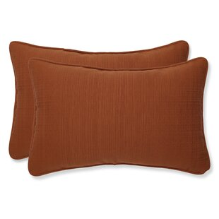 Cinnabar Corded Indoor/Outdoor Lumbar Pillow (Set of 2)