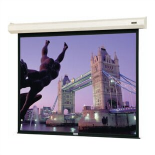 Cosmopolitan Electrol Motorized Matte White Electric Projection Screen