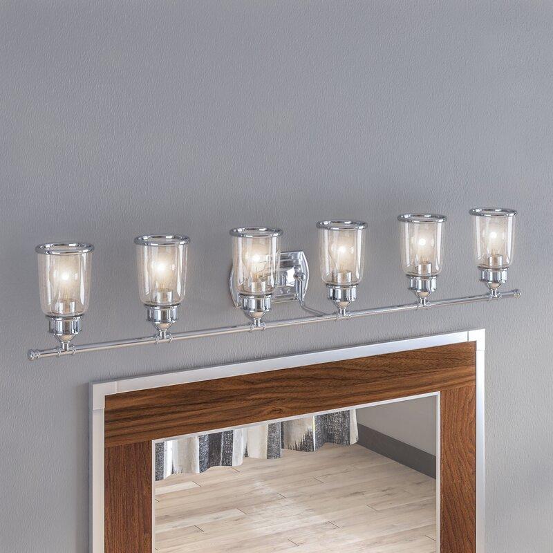 17 stories laurenza bath 6 light vanity light reviews wayfair laurenza bath 6 light vanity light aloadofball Gallery