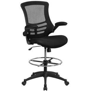 Archimedes High Back Mesh Drafting Chair