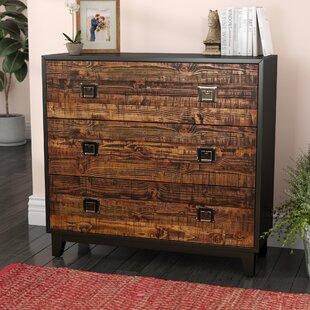 Salas Wood 3 Drawer Chest
