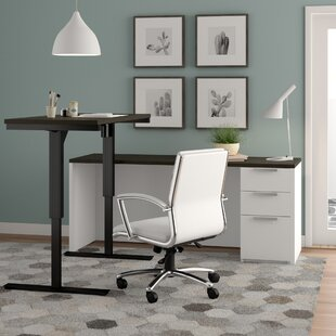 Kadian Contemporary Reversible L-Shape Corner Desk