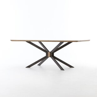 Sommer Spider Dining Table by 17 Stories New Design