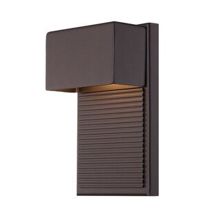 Hiline 2-Light LED Outdoor Flush Mount
