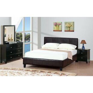 Hans Queen Upholstered Panel Bed