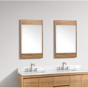 Reviews Landers Bathroom / Vanity Mirror ByUnion Rustic