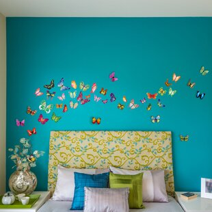 Forbush Butterfly 3D Wall Decal
