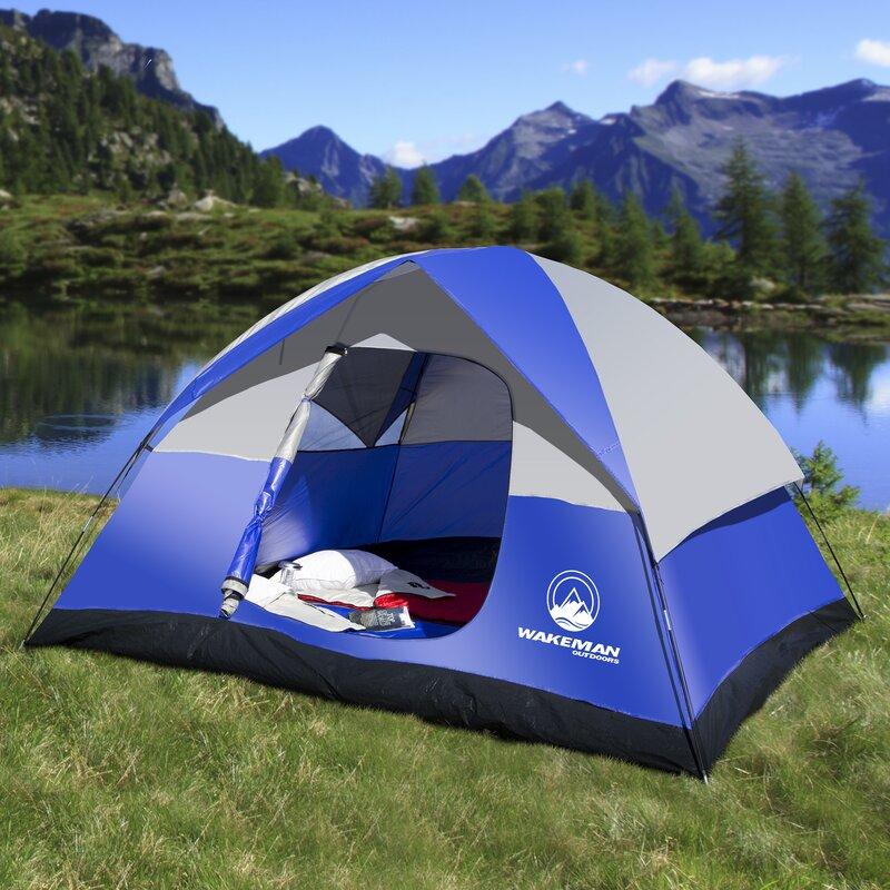 Wakeman Dome 6 Person Tent & Lavish Home Wakeman Dome 6 Person Tent u0026 Reviews | Wayfair