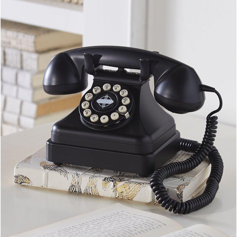 Classic Desk Phone - Birch Lane™ Classic Desk Phone & Reviews Wayfair