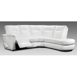 Read Reviews Daphne Reclining Sectional by Relaxon Reviews (2019) & Buyer's Guide