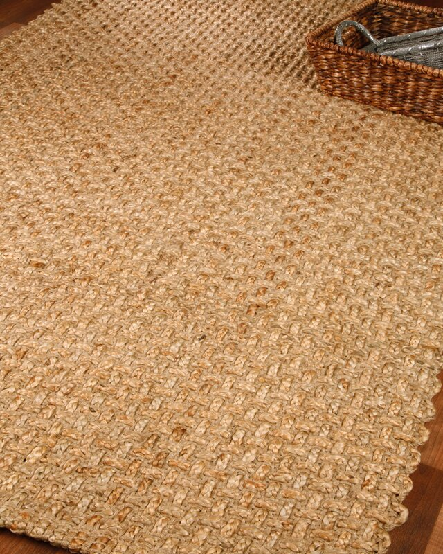Captivating Dresden 100% Natural Jute Hand Woven Area Rug