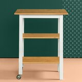 Stetler Kitchen Cart by August Grove®