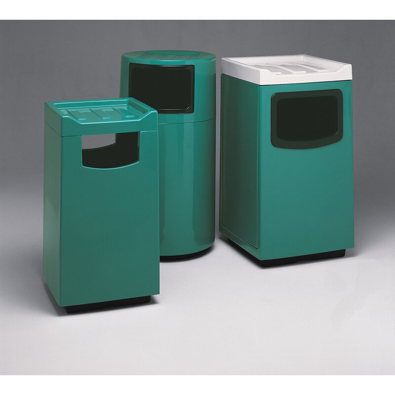 Witt Food Court Receptacle 45 Gallon Trash Can