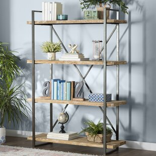 Best Choices Hardwick Metal Wood Bookcase by Trent Austin Design